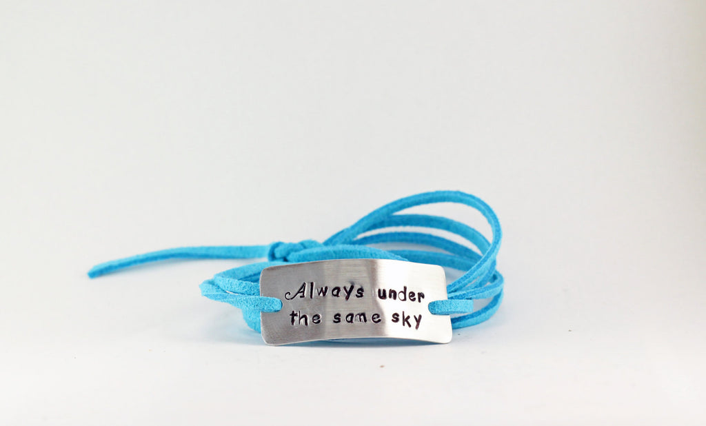 Always Under The Same Sky Wrap Bracelet