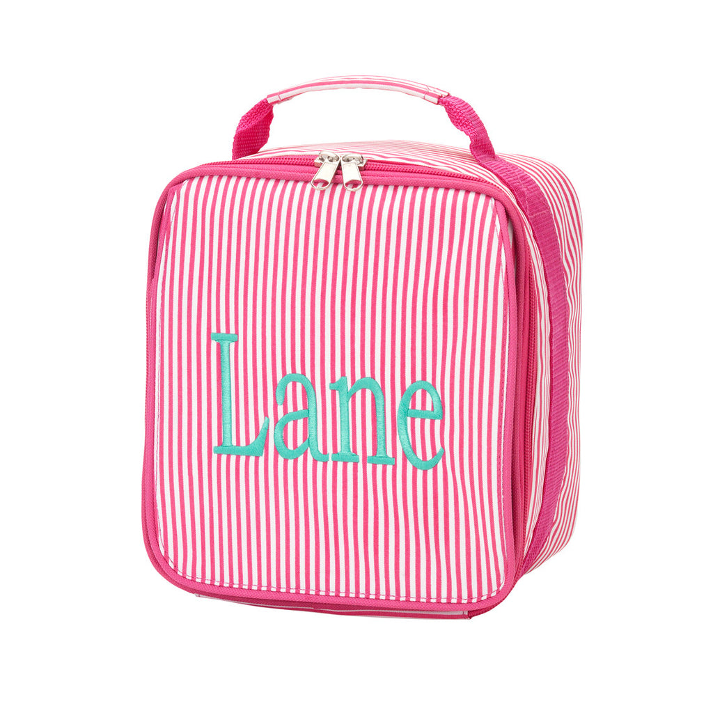 Lunchbox - Pink Stripe