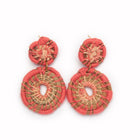 Medallion Earrings | Melon