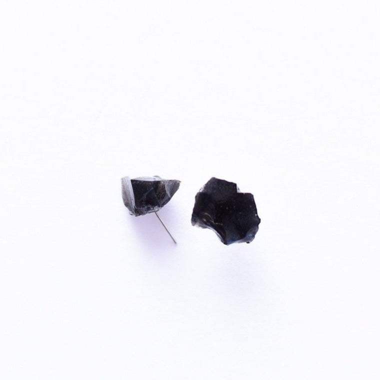 Earrings | Obsidian