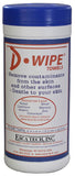 D-Wipe® Towel — Case of 12 Canisters (480 towels)