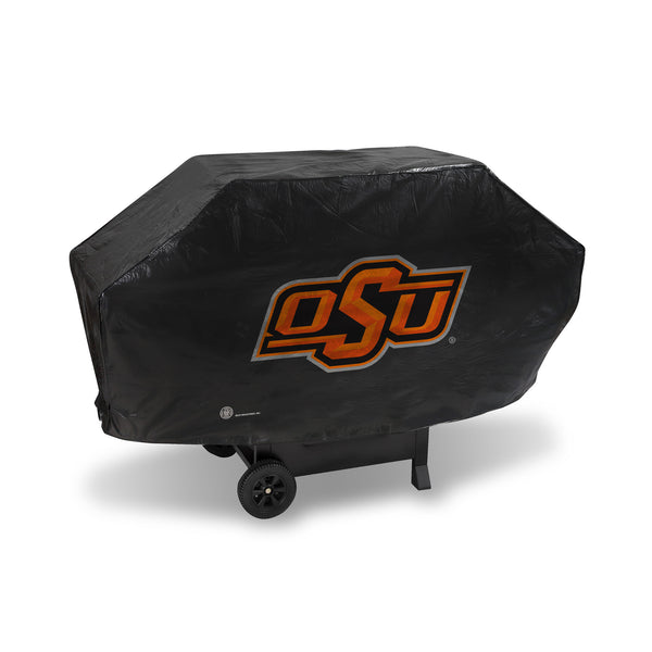 Oklahoma State Deluxe Vinyl Grill Cover
