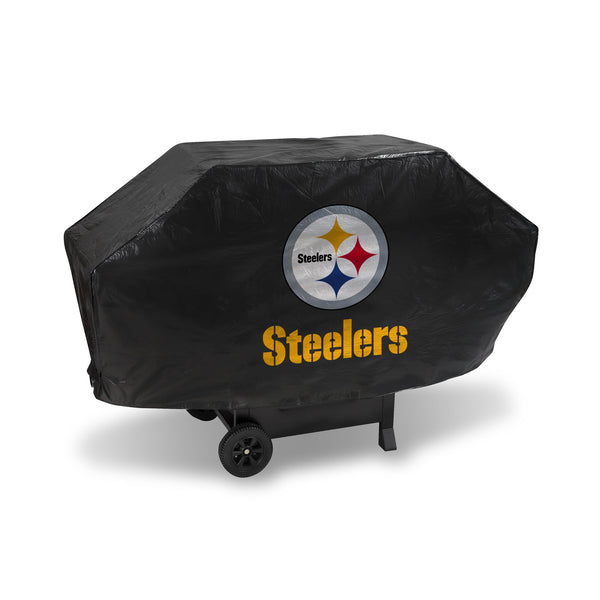 Steelers Deluxe Vinyl Grill Cover