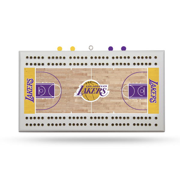 Lakers Cribbage Board