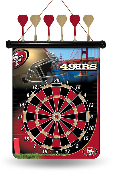 49ers Magnetic Dart Board