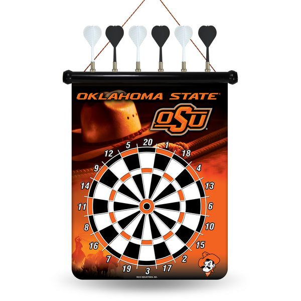 Oklahoma State Magnetic Dart Board