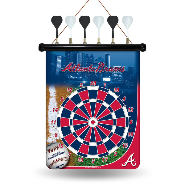 Braves Magnetic Dart Board