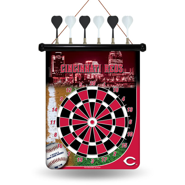 Reds Magnetic Dart Board