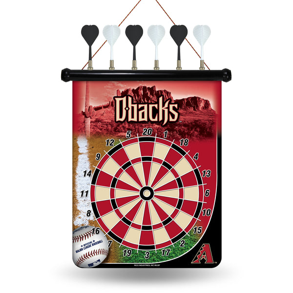 Diamondbacks Magnetic Dart Board