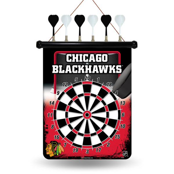 Blackhawks Magnetic Dart Board