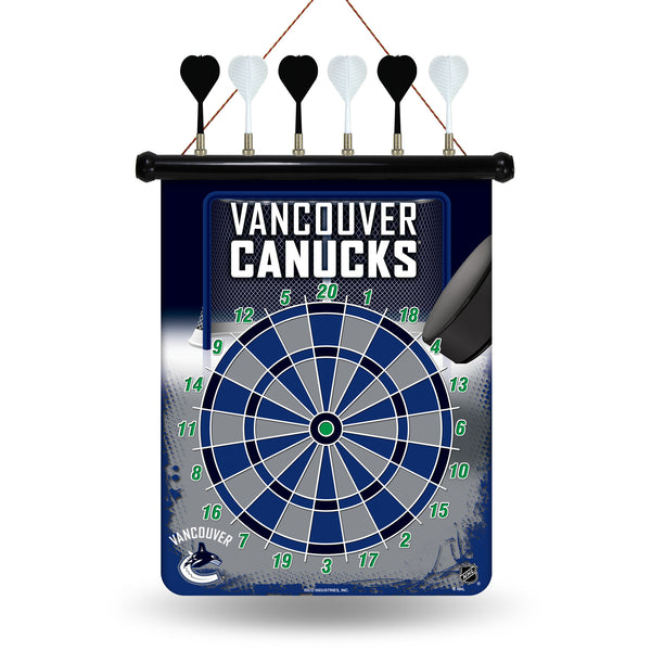 Canucks Magnetic Dart Board