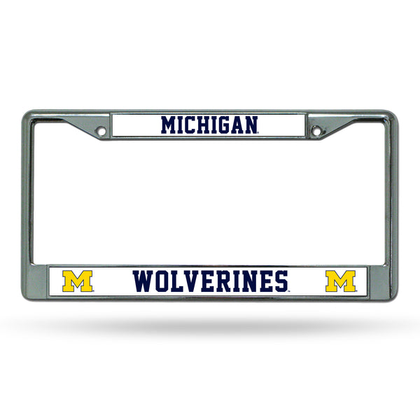 Michigan Chrome License Plate Frame
