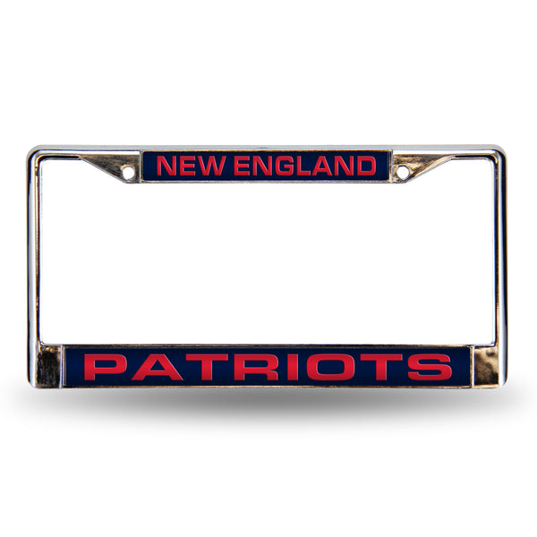 Patriots Chrome License Plate Frame