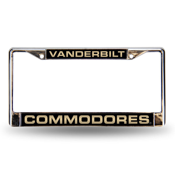 Vanderbilt Chrome License Plate Frame