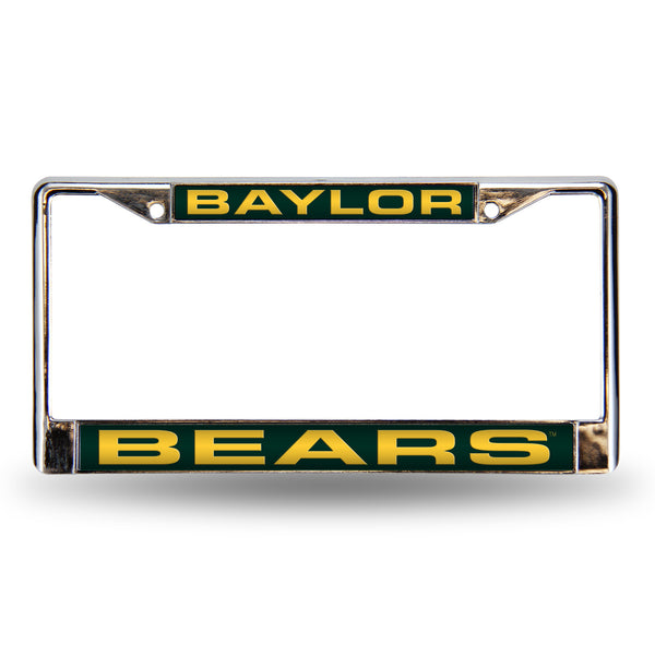 Baylor Chrome License Plate Frame