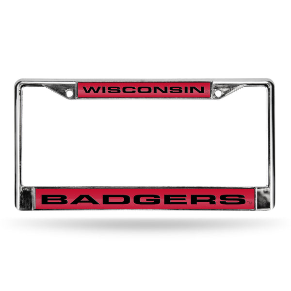 Wisconsin Chrome License Plate Frame
