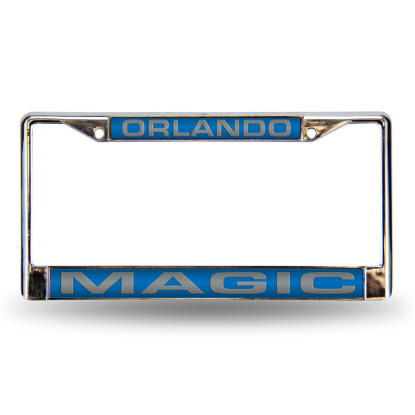 Magic Chrome License Plate Frame