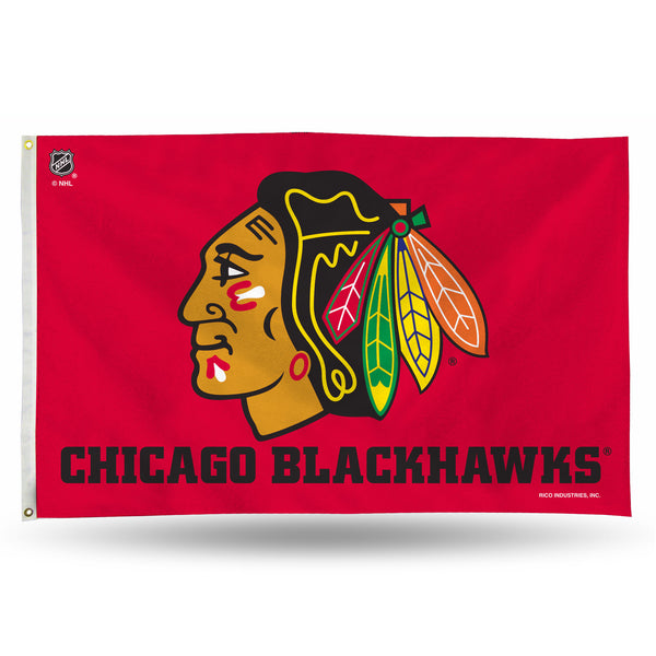 Blackhawks Banner Flag