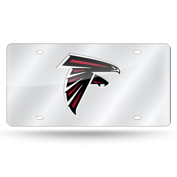 Falcons Silver Laser Cut Tag