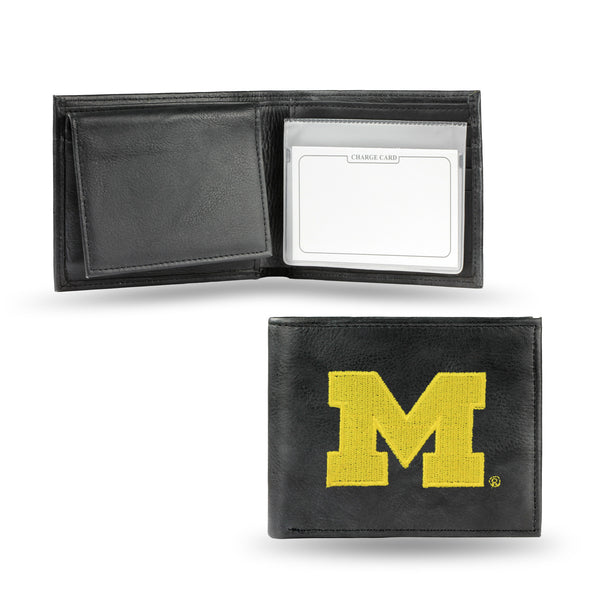 Michigan Embroidered Billfold