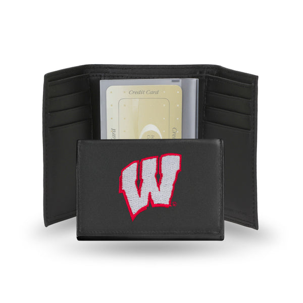 Wisconsin Embroidered Trifold