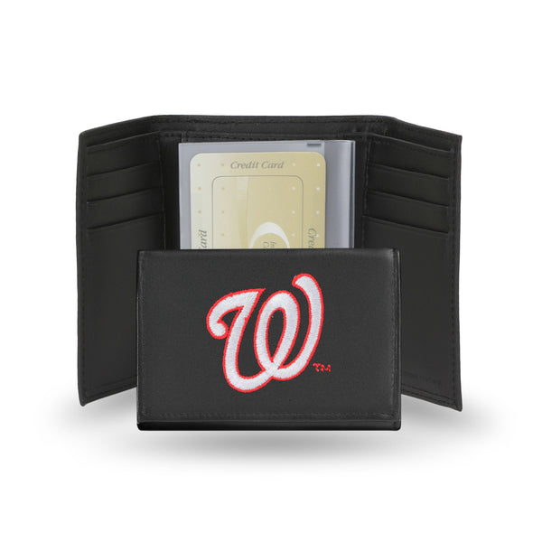 Nationals Embroidered Trifold