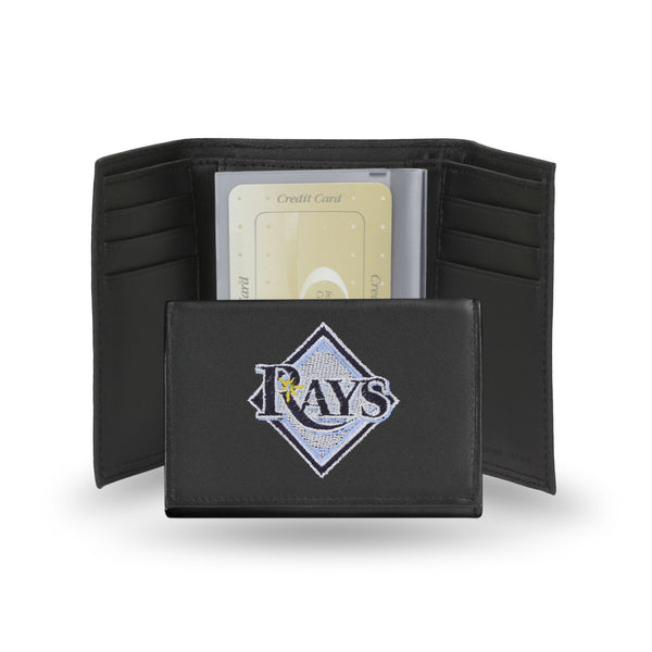 Rays Embroidered Trifold