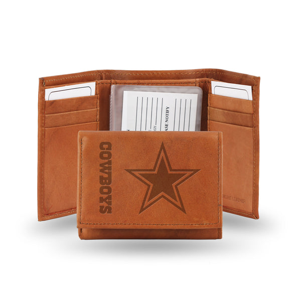 Cowboys Embossed Trifold