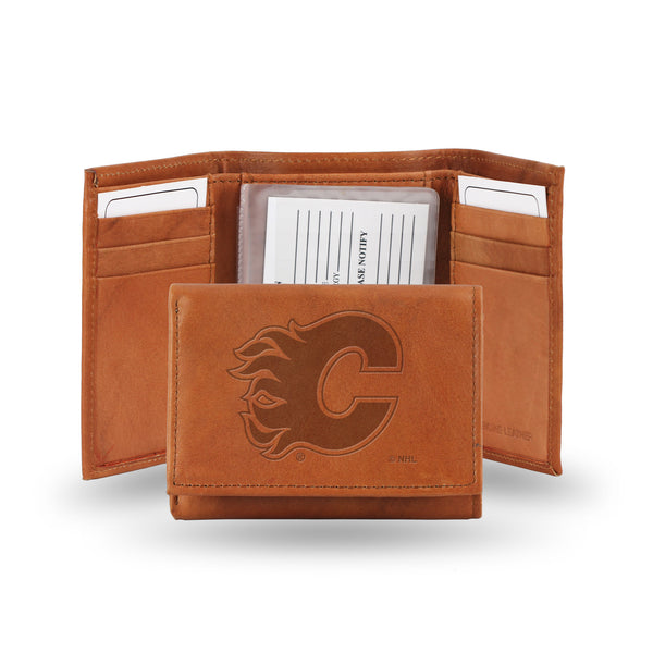 Flames Embossed Trifold