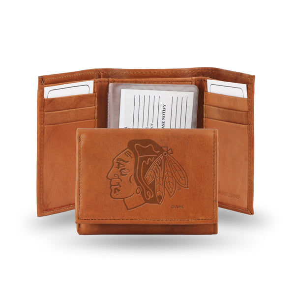 Blackhawks Embossed Trifold