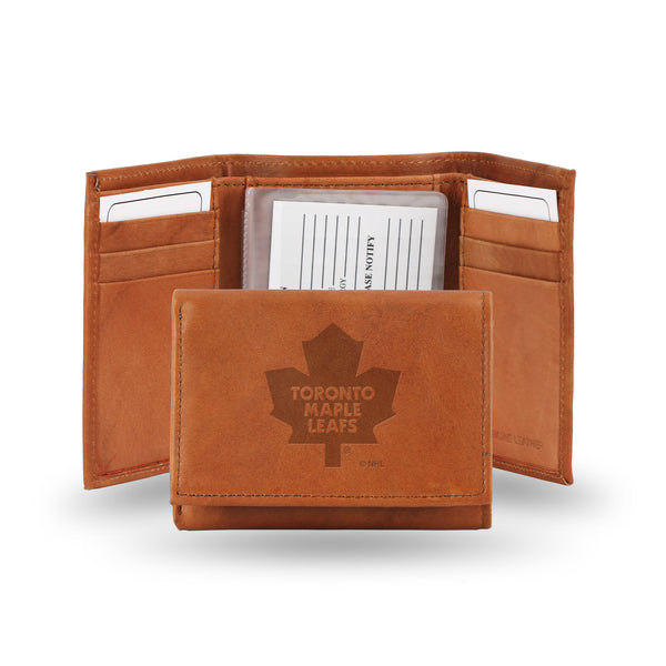 Maple Leafs Embossed Trifold