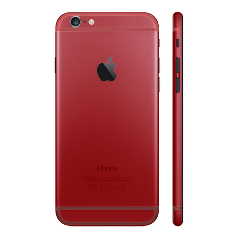 FULL RED MATTE for iPhone 6S - HautePhones - 1