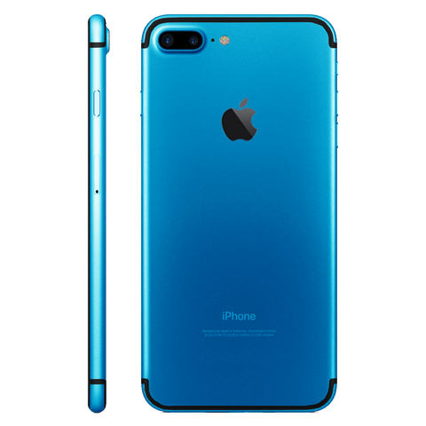 LIGHT BLUE for iPhone 7 PLUS - HautePhones - 1