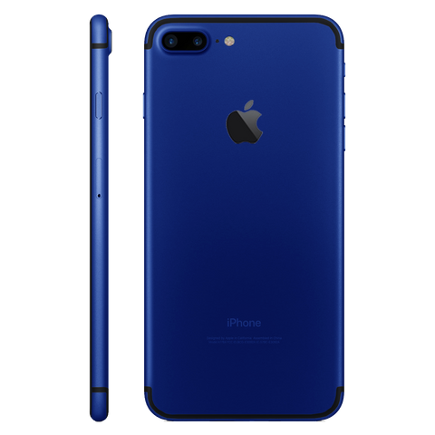 DARK BLUE for iPhone 7 PLUS - HautePhones - 1