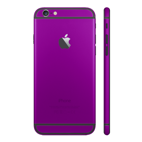 PURPLE for iPhone 6 - HautePhones - 1