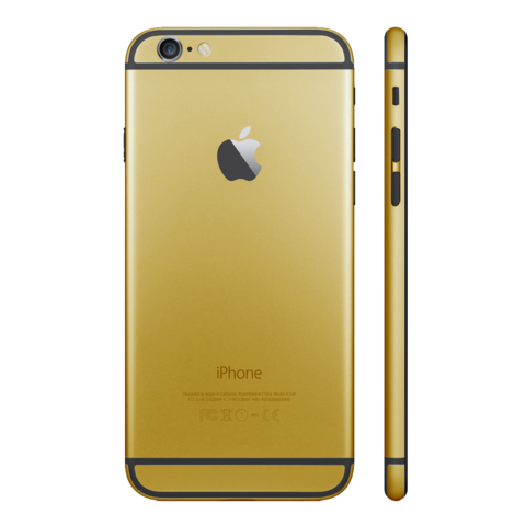 GOLD for iPhone 6 PLUS - HautePhones - 1