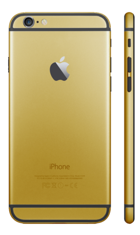 GOLD for iPhone 6S - HautePhones - 9