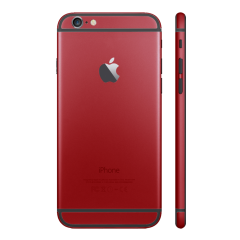 RED for iPhone 6 PLUS - HautePhones - 1