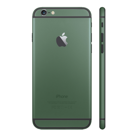 ARMY GREEN for iPhone 6S - HautePhones - 1
