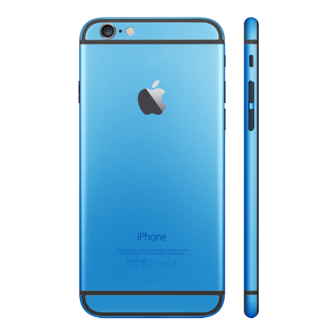 LIGHT BLUE for iPhone 6 - HautePhones - 1