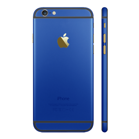 DARK BLUE for iPhone 6S PLUS - HautePhones - 1