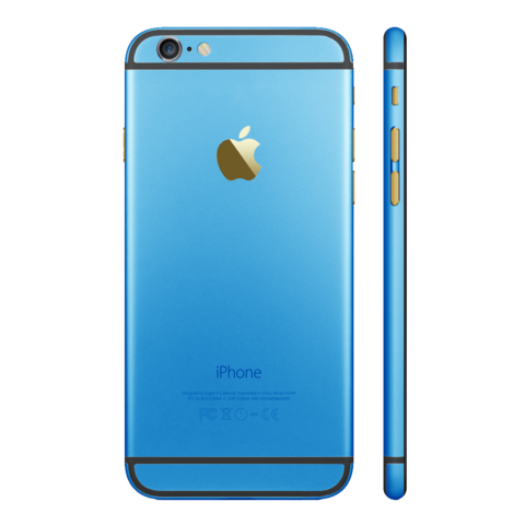 LIGHT BLUE for iPhone 6S - HautePhones - 1