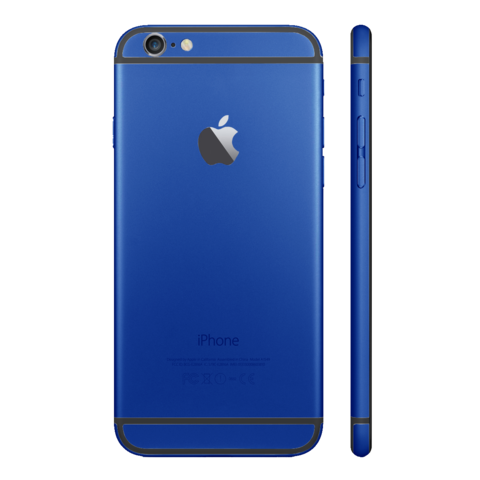 DARK BLUE for iPhone 6 - HautePhones - 1