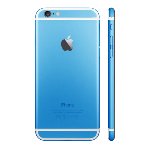 LIGHT BLUE for iPhone 6 - HautePhones - 9