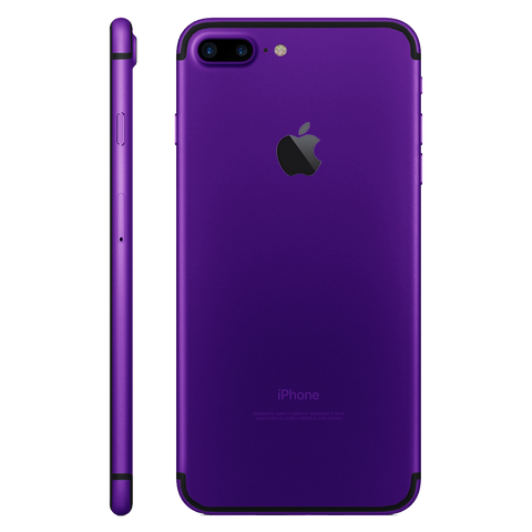 PURPLE for iPhone 7 PLUS - HautePhones - 1