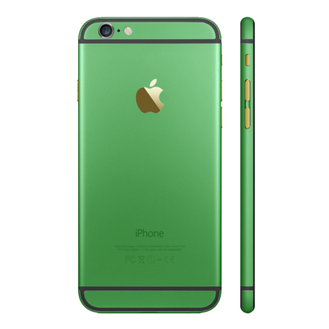 GREEN for iPhone 6 PLUS - HautePhones - 1
