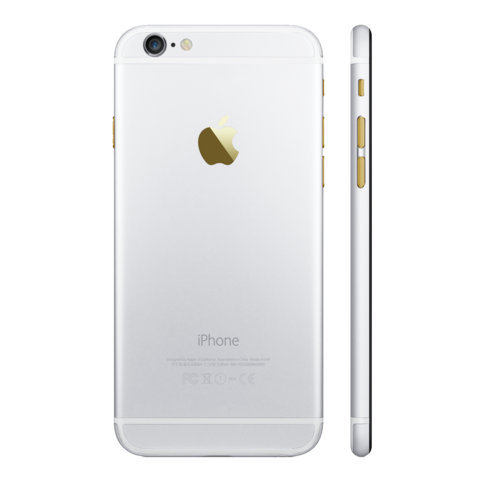WHITE for iPhone 6S - HautePhones - 1