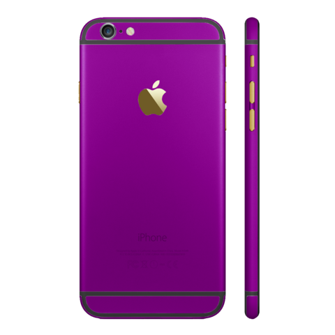 PURPLE for iPhone 6S PLUS - HautePhones - 1