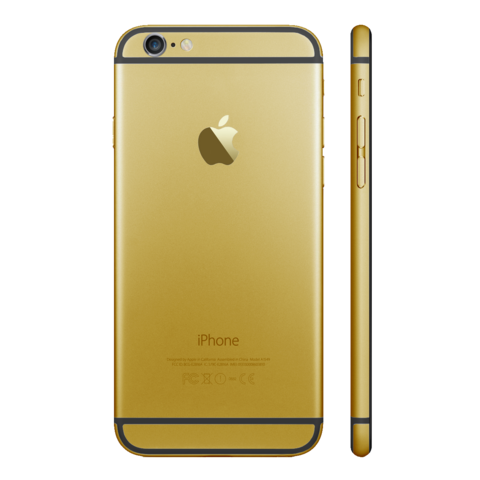 GOLD for iPhone 6S PLUS - HautePhones - 1
