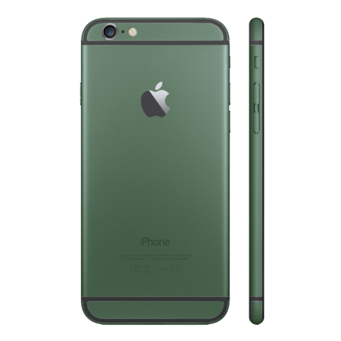 ARMY GREEN for iPhone 6 - HautePhones - 6